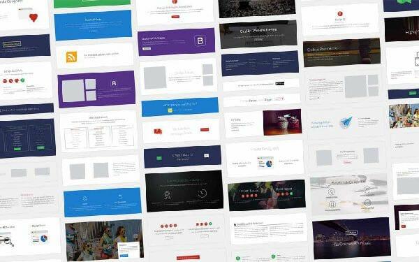網站設計-時尚區塊