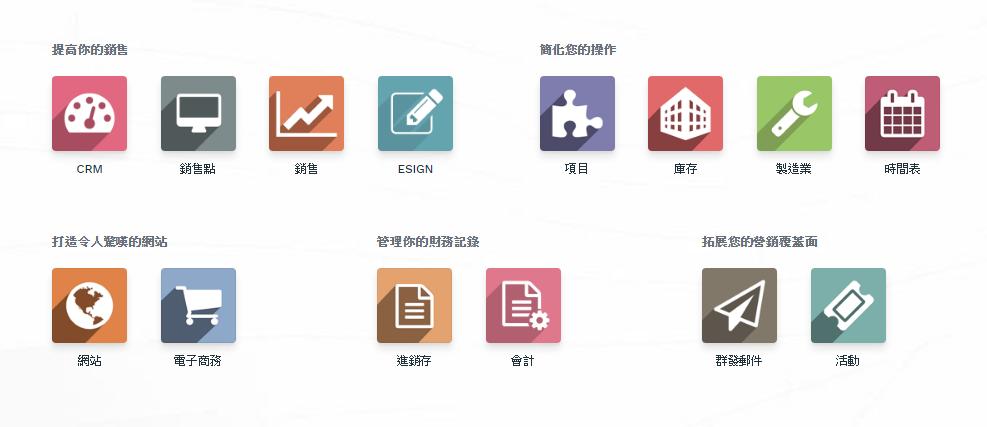 網站設計-ERP